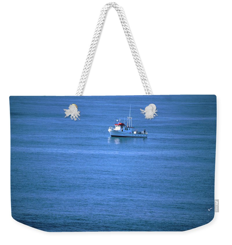 Boat Weekender Tote Bag featuring the photograph Silent Story by Soli Deo Gloria Wilderness And Wildlife Photography