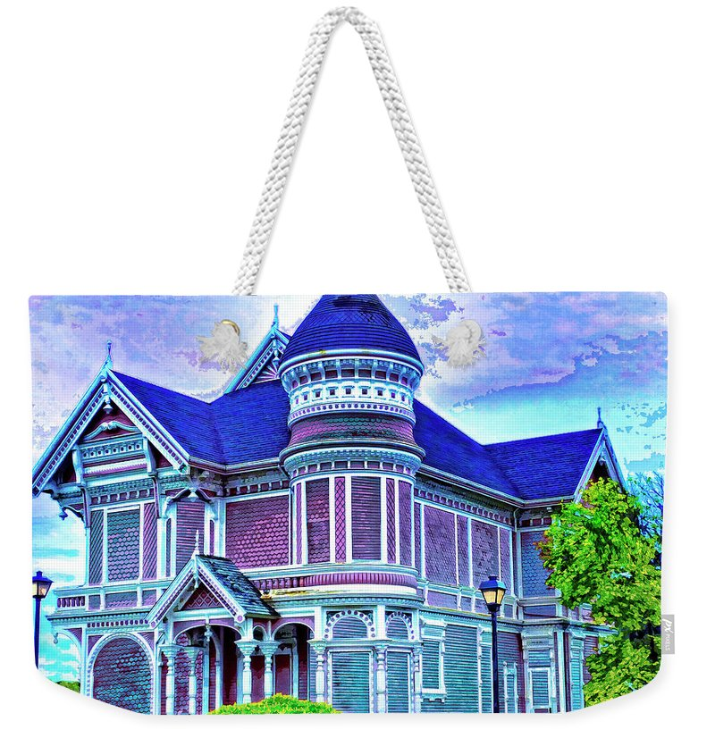 Silent Witness Weekender Tote Bag featuring the mixed media Silent Witness by Dominic Piperata