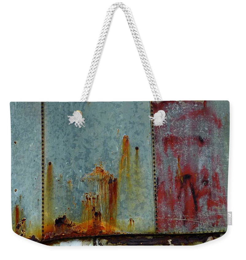 Skip Hunt Weekender Tote Bag featuring the photograph Silo Series 1 by Skip Hunt
