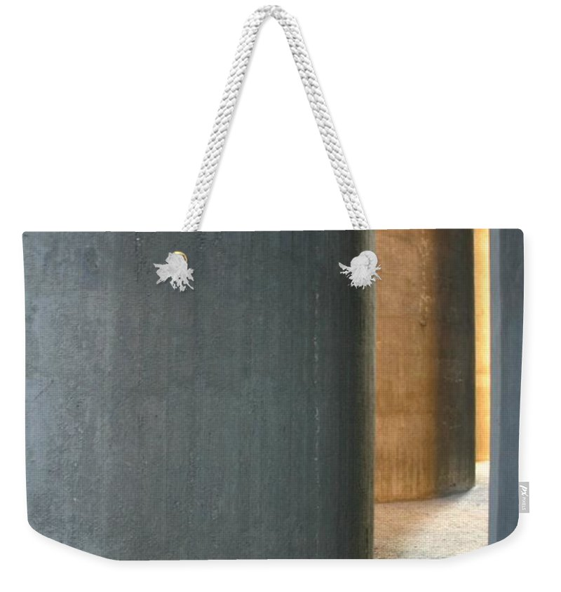 Silver Weekender Tote Bag featuring the photograph Silver And Gold In Belgium by Minaz Jantz