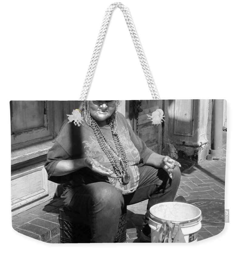French Quarter Weekender Tote Bag featuring the photograph Silver Dime by Michelle Powell