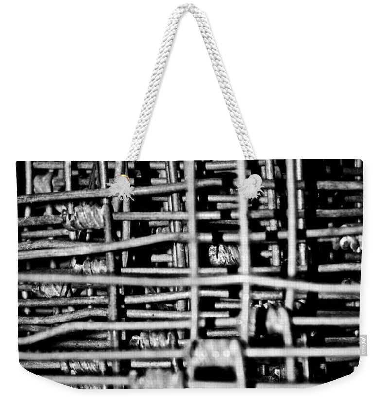 Silver Weekender Tote Bag featuring the photograph Silver Lining by Hannah Breidenbach