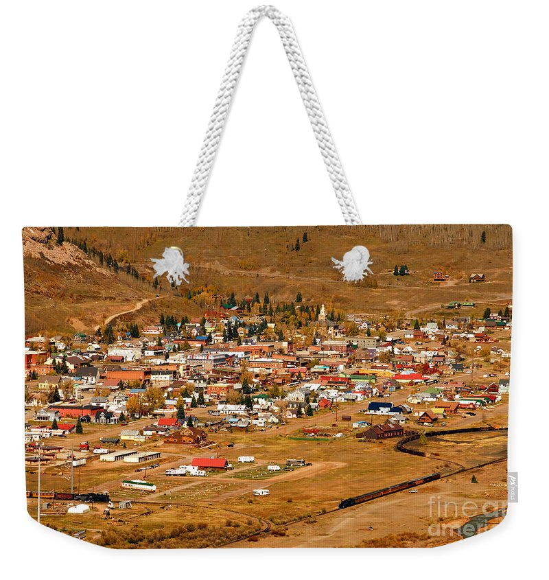 Silverton Colorado Weekender Tote Bag featuring the photograph Silverton by David Lee Thompson