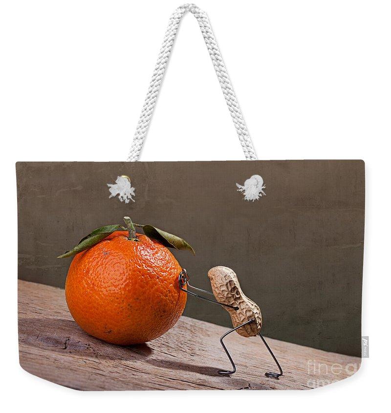 Comical Weekender Tote Bags