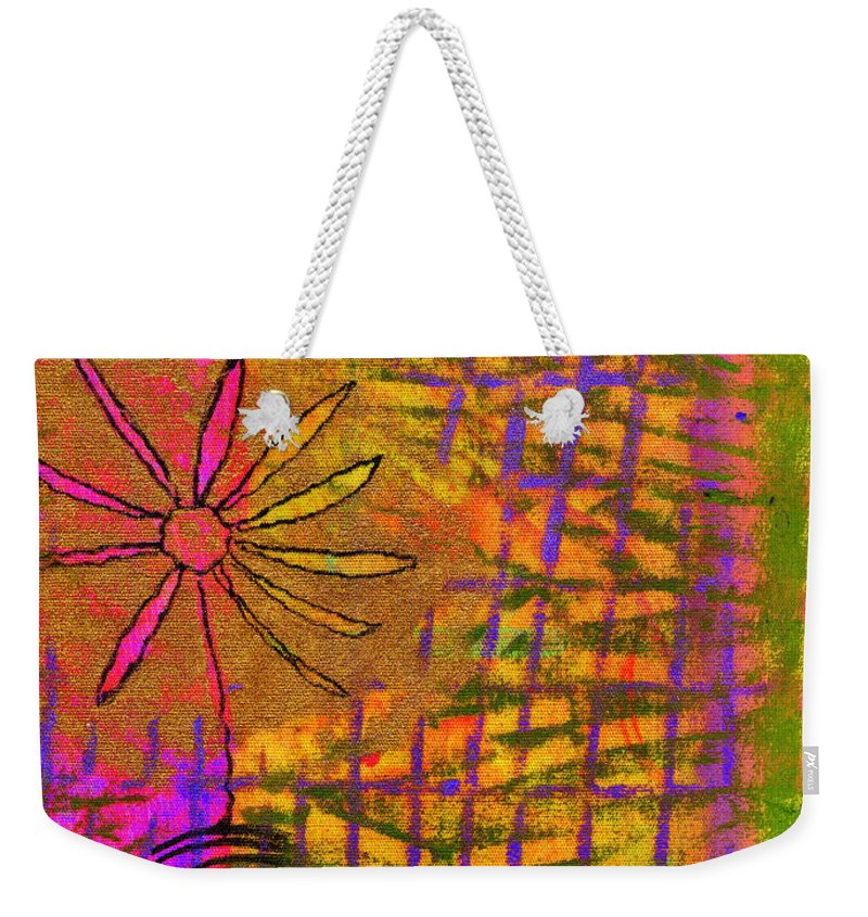 Woman Weekender Tote Bag featuring the mixed media Single Act Of Love II by Angela L Walker