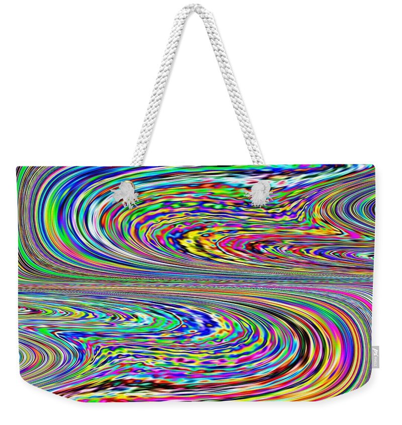 Abstract Weekender Tote Bag featuring the photograph Sinuous Beauty by Tim Allen