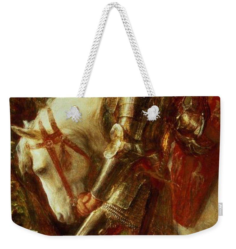 Knight Weekender Tote Bags