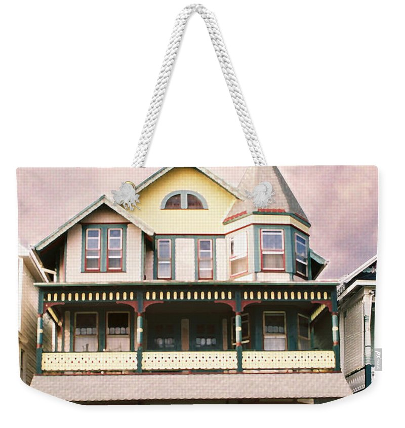 Landscape Weekender Tote Bag featuring the photograph Sisters panel three of Triptych by Steve Karol