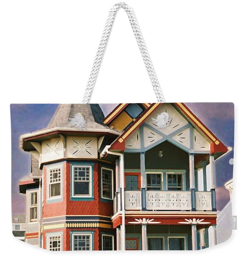 Landscape Weekender Tote Bag featuring the photograph Sisters Panel Two Of Triptych by Steve Karol