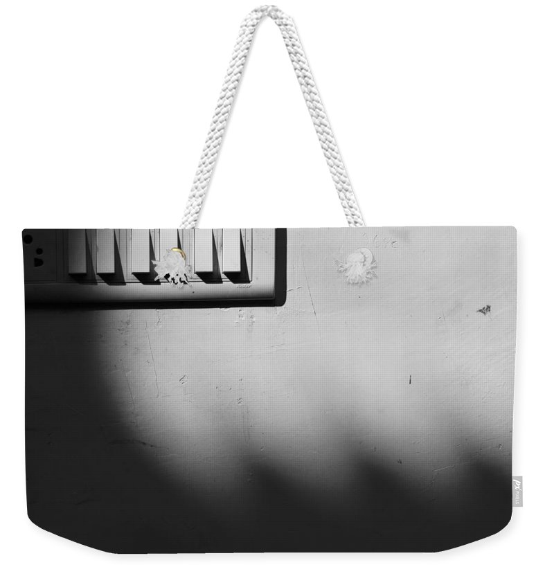 Minimal Weekender Tote Bag featuring the photograph Six Men And A Woman by Prakash Ghai