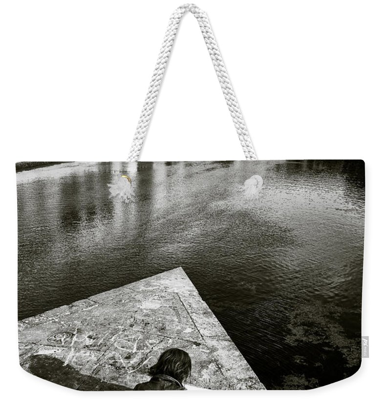 Sketching Weekender Tote Bag featuring the photograph Sketching by Dave Bowman