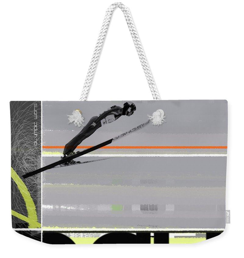 Winter Olympics Weekender Tote Bags