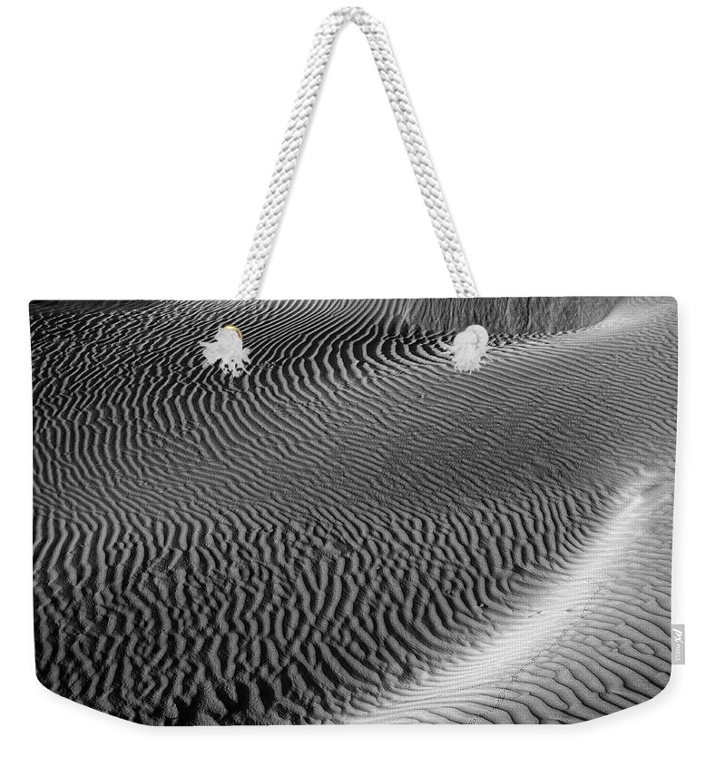 Corrugation Weekender Tote Bag featuring the photograph Skn 1129 Corrugation by Sunil Kapadia