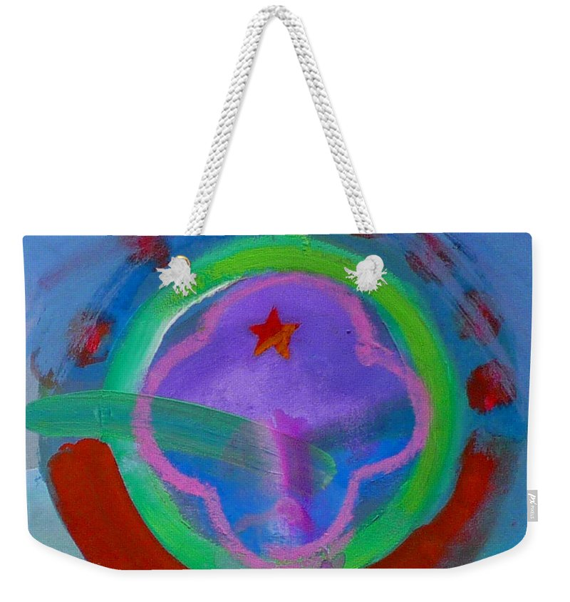 Love Weekender Tote Bag featuring the painting Skua by Charles Stuart