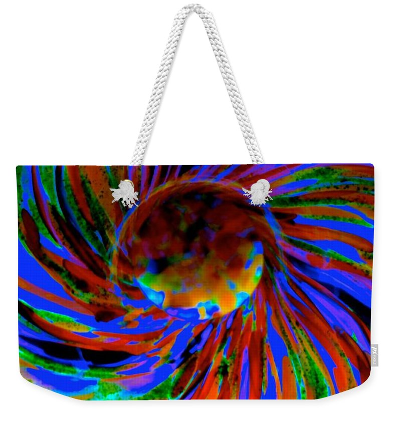 Dragons Weekender Tote Bag featuring the photograph Sky Dragon Eye by Tim G Ross