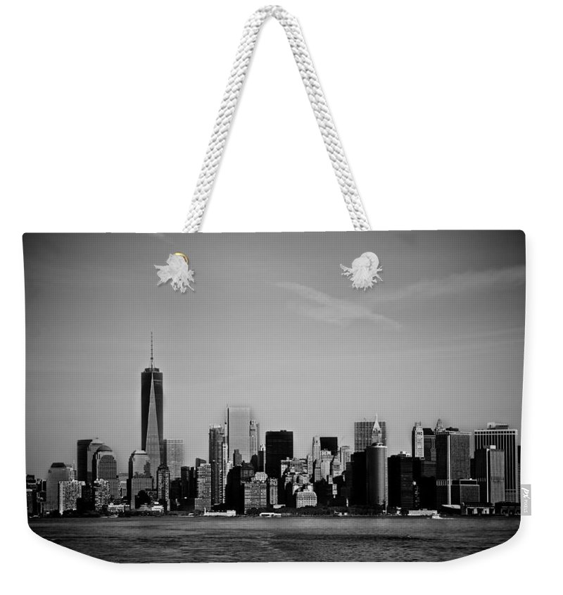 Nyc Weekender Tote Bag featuring the photograph Sky Line by Jackie Dorr