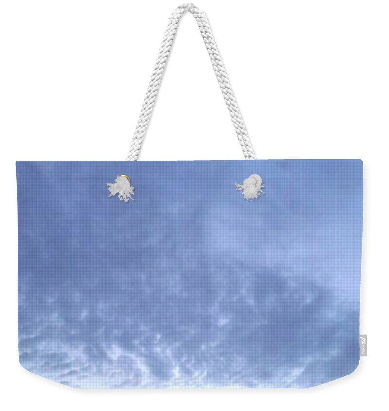 Sky Weekender Tote Bag featuring the photograph Sky by Maryam Al Azzawi