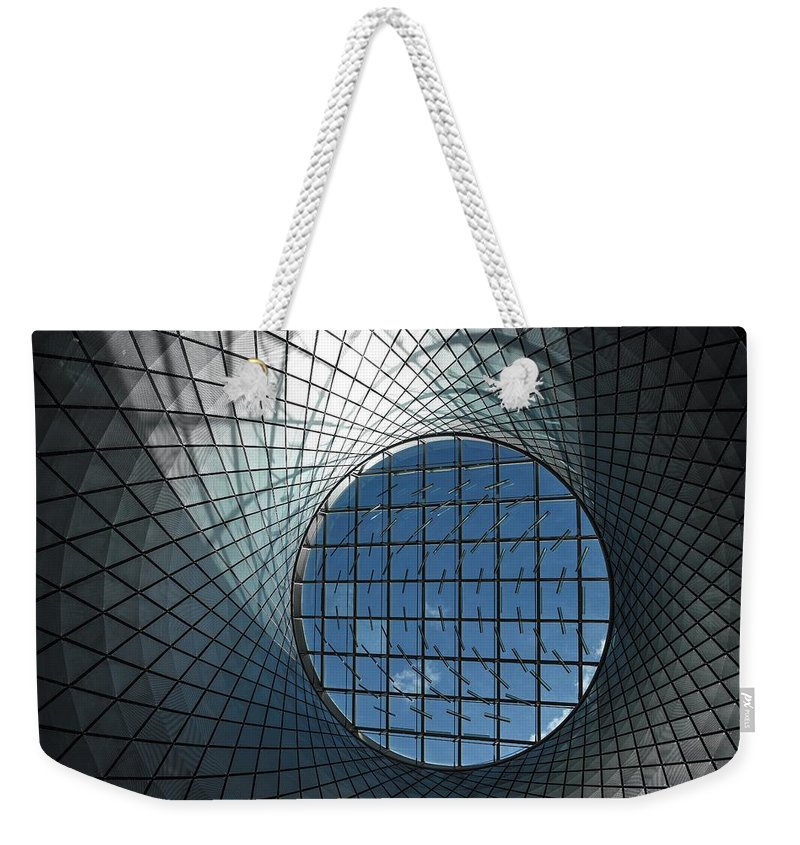 Architecture Weekender Tote Bag featuring the photograph Sky Reflector-net 2 by Rand