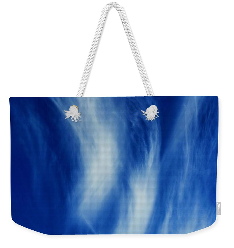 Clay Weekender Tote Bag featuring the photograph Sky Sculpting by Clayton Bruster