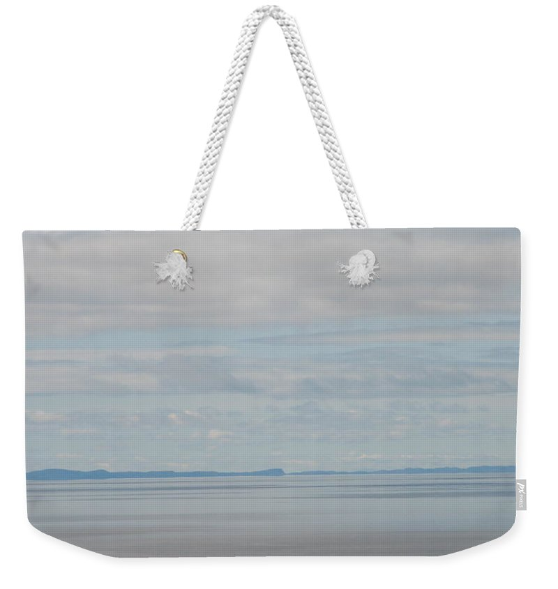 Sky Weekender Tote Bag featuring the photograph Skyscape by Kelly Mezzapelle