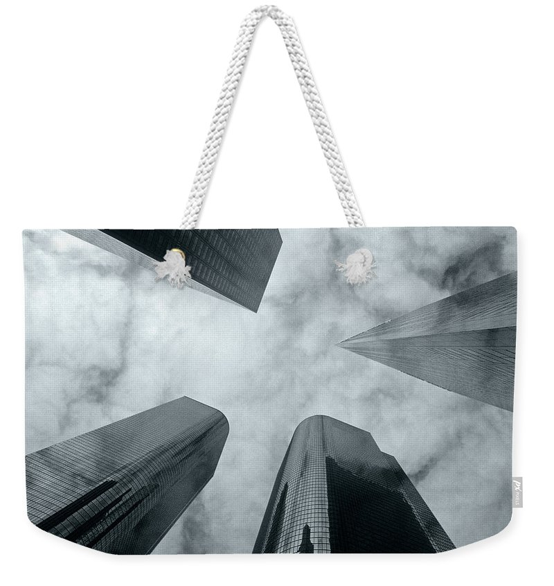 Skyscrapers Weekender Tote Bag featuring the photograph Skyscrapers by Steve Williams