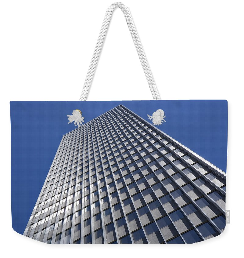 Graphic Detail Weekender Tote Bag featuring the photograph Sleek And Silver by Kelley King