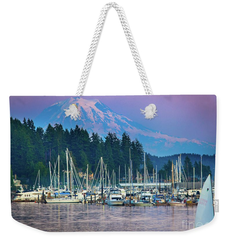 America Weekender Tote Bag featuring the photograph Sleeping Giant by Inge Johnsson