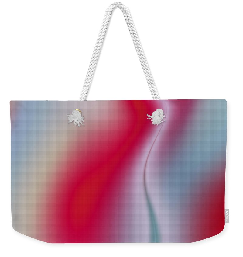 Art Weekender Tote Bag featuring the digital art Sliver by Candice Danielle Hughes