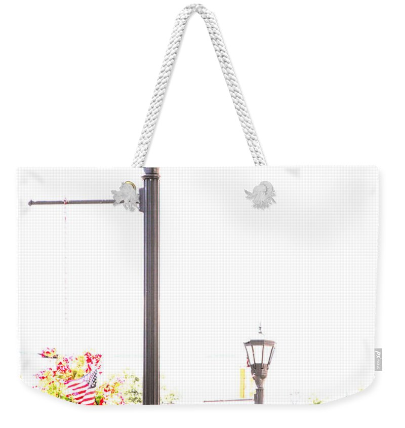 Small Town Weekender Tote Bag featuring the photograph Small Town by Amanda Barcon