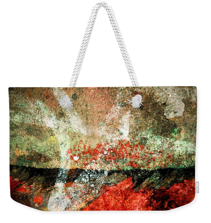 Concrete Weekender Tote Bag featuring the photograph Small Truths by Tara Turner