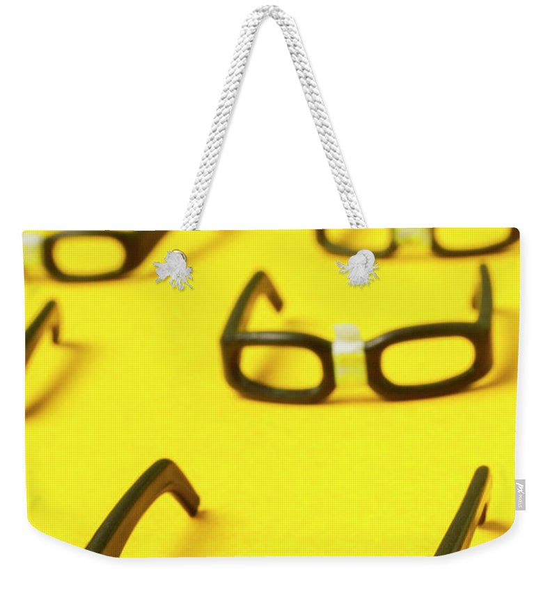 Geek Weekender Tote Bag featuring the photograph Smart Contract Dress Code by Jorgo Photography - Wall Art Gallery