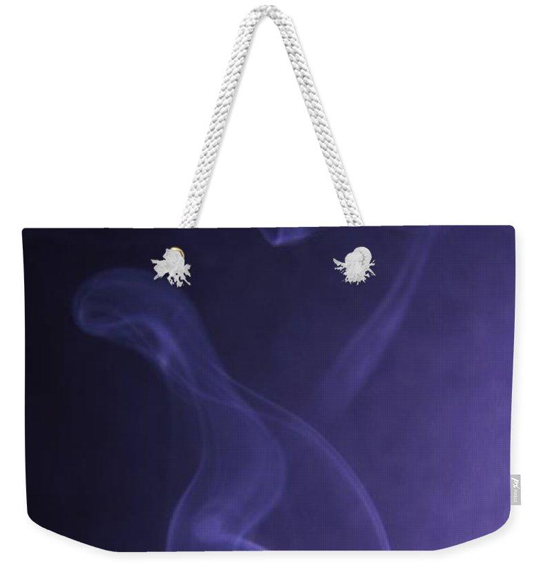 Smoke Weekender Tote Bag featuring the photograph Smoke by Jeff Swan