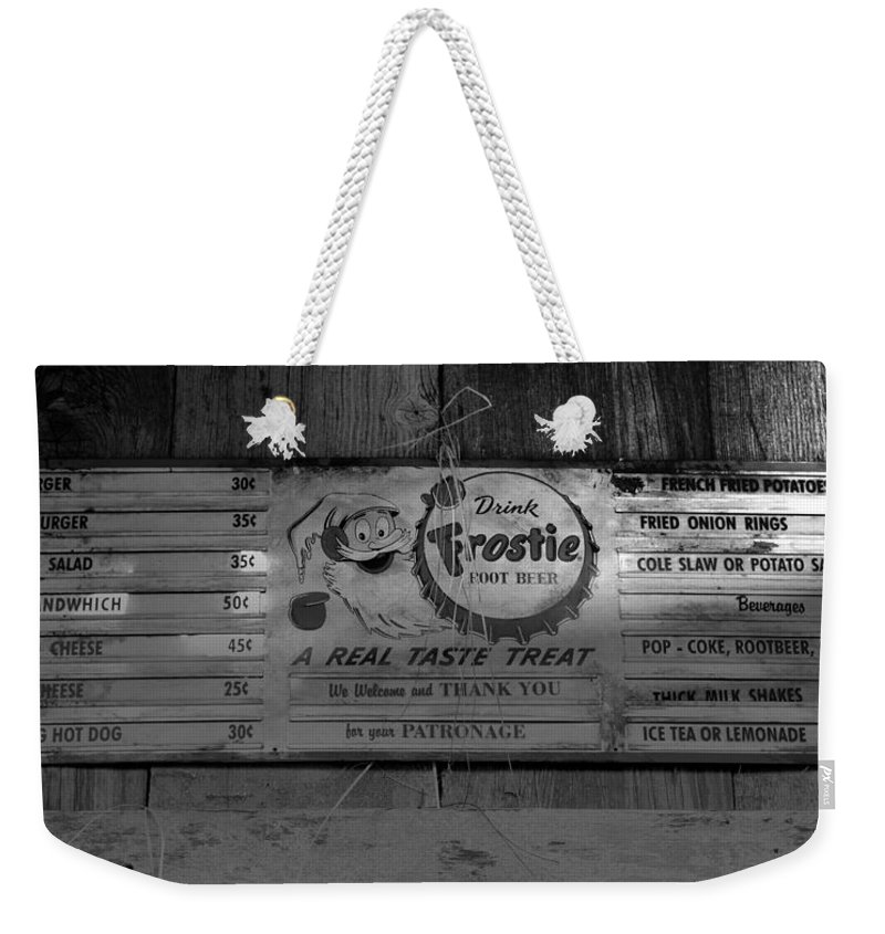 Snacks Weekender Tote Bag featuring the photograph Snacks by David Lee Thompson