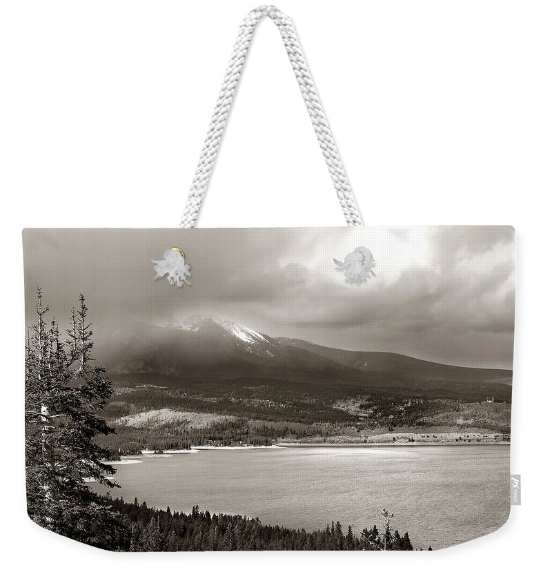Snake Pass Weekender Tote Bag featuring the photograph Snake Pass Colorado by Marilyn Hunt