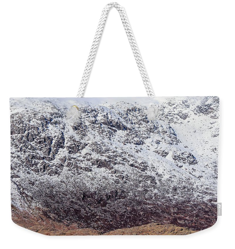 Beautiful Weekender Tote Bag featuring the photograph Snowdonia by Chris Smith