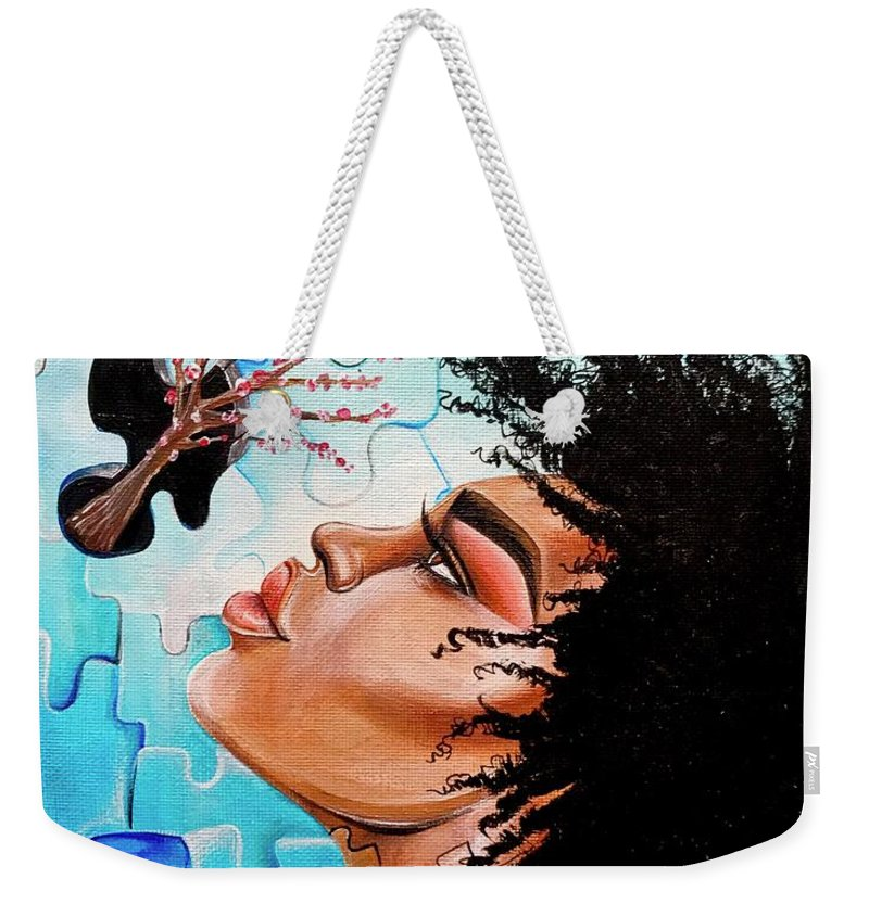 Butterfly Weekender Tote Bag featuring the photograph So Much more to me that you just cant See by Artist RiA