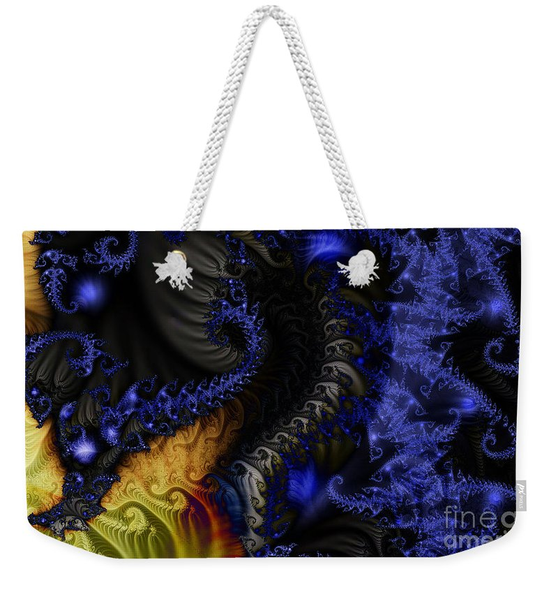 Clay Weekender Tote Bag featuring the digital art Social Classes by Clayton Bruster