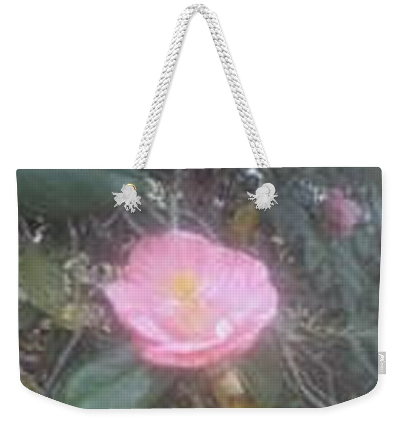Natural Ight Weekender Tote Bag featuring the photograph Soft by R Chambers