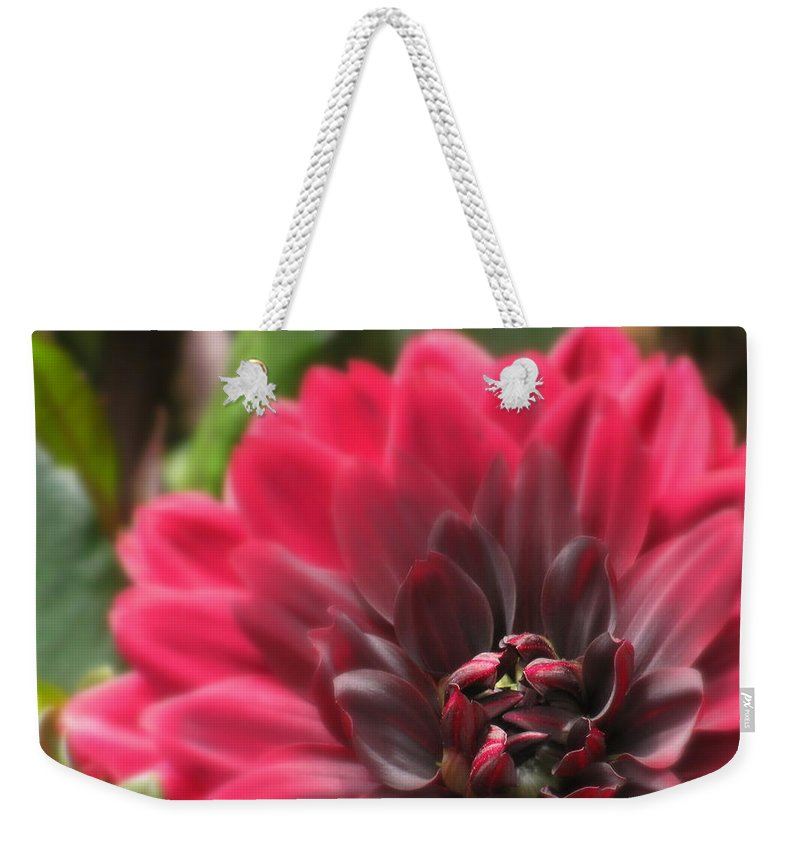 Flowers Weekender Tote Bag featuring the photograph Soft Whisper by Deborah Crew-Johnson