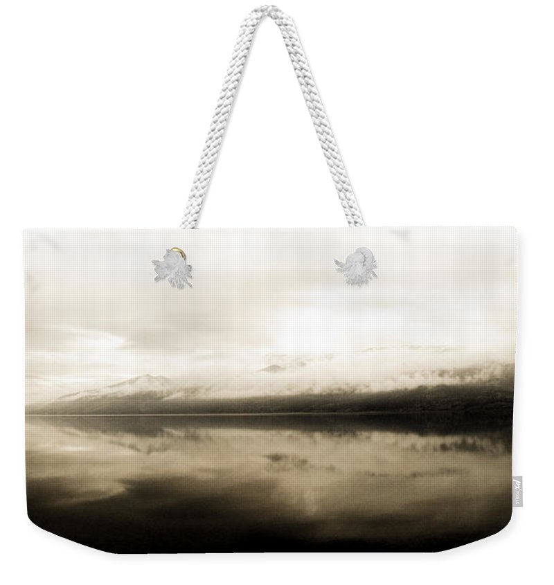 Mountain Weekender Tote Bag featuring the photograph Solace by Trance Blackman