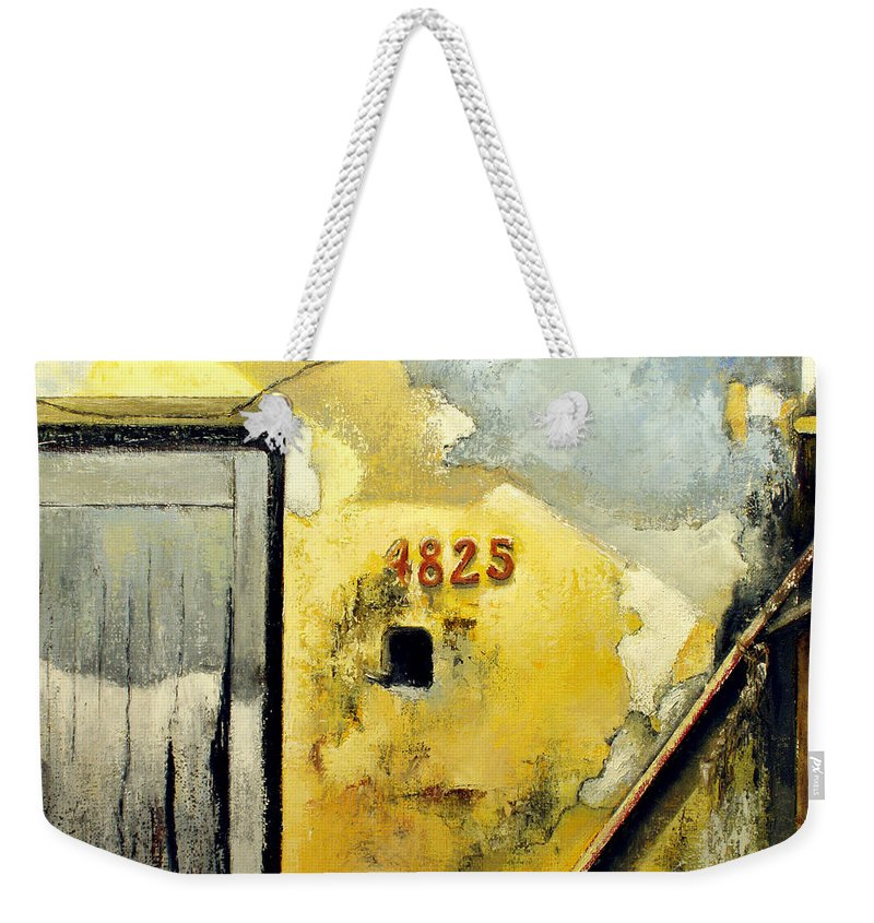 Havana Weekender Tote Bag featuring the painting Solana by Tomas Castano