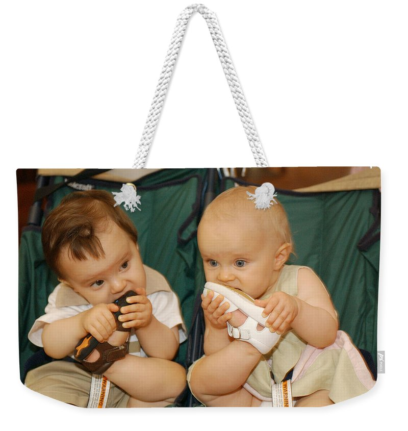 Feet Weekender Tote Bag featuring the photograph Sole Food by Jill Reger