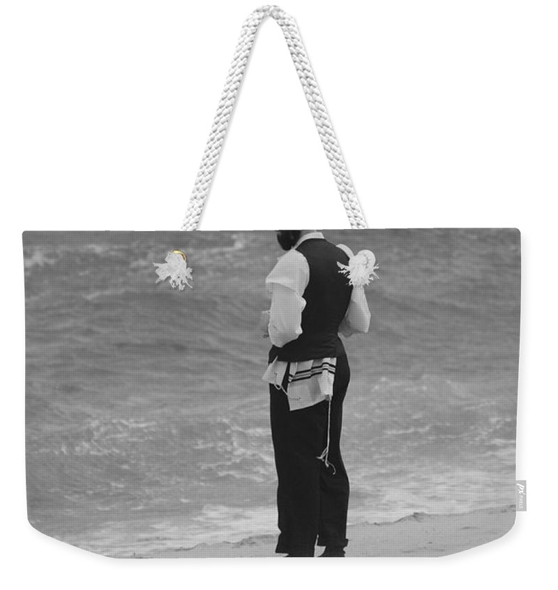 Black And White Weekender Tote Bag featuring the photograph Solice by Rob Hans