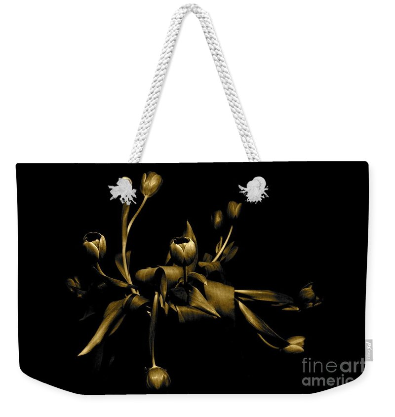 Danica Radman Weekender Tote Bag featuring the photograph Solid Gold by Danica Radman