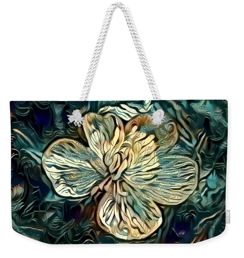 Photography Weekender Tote Bag featuring the digital art Solitary by Amanda Moore