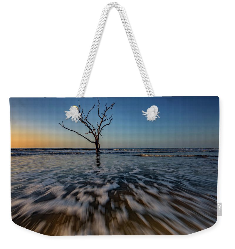 Sunrise Weekender Tote Bag featuring the photograph Solitary by Rick Berk