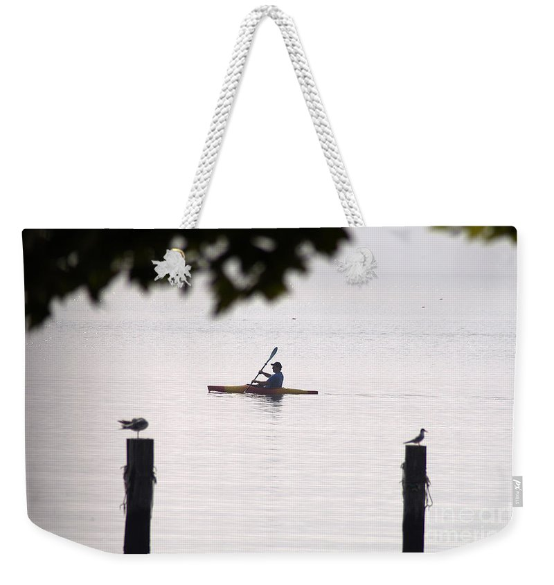 Clay Weekender Tote Bag featuring the photograph Solitude by Clayton Bruster