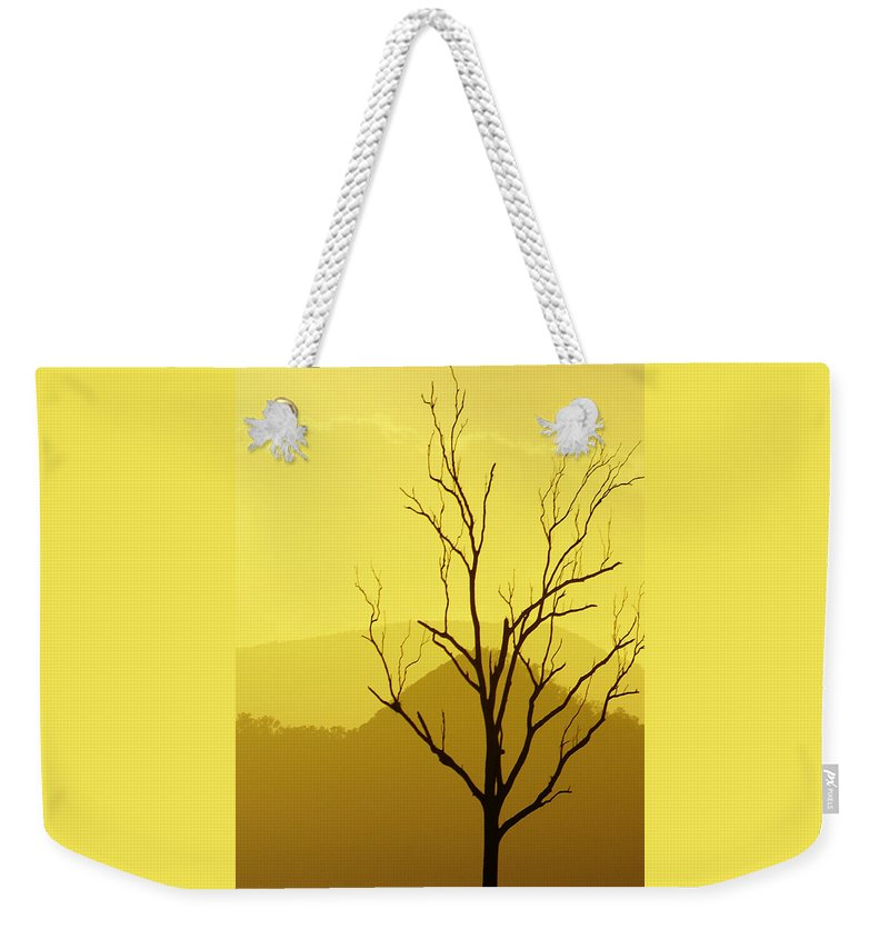 Landscape Weekender Tote Bag featuring the photograph Solitude by Holly Kempe