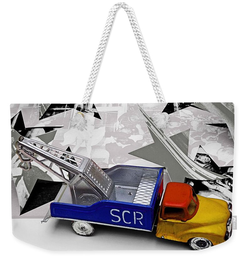 Marilyn Weekender Tote Bag featuring the photograph Some Like It Hot by Charles Stuart