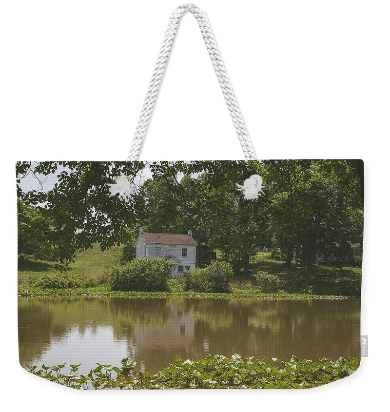 Catawba Weekender Tote Bag featuring the photograph Someone's Home by Cindi Poole